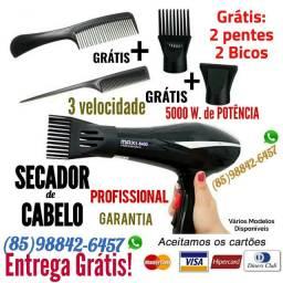 Secador de Cabelo, professional garantia e Entrega Grátis.
