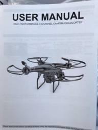DRONE HDRC 4K - 100 Mts. NOVO