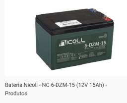 Bateria Nicoll 6-DZM 15h patinete scooter elétrico