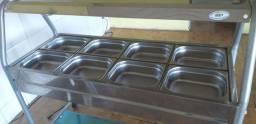 Buffet Quente 8 cubas 220V