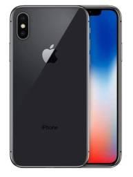 IPhone X 64 Gb Cinza-espacial + Carregador + Fone De Ouvido