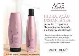 Kit Aneethun linha AGE system shampoo e mascara