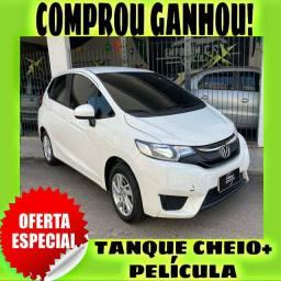 TANQUE CHEIO SO NA EMPORIUM CAR!!!! HONDA FIT 1.5 EX ANO 2016 COM MIL DE ENTRADA