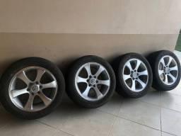 V/T Rodas 20 polegadas com pneus