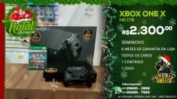 Promoção de Natal : Xbox one X seminovo a pronta entrega!