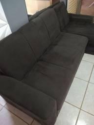 Vendo Sofá Cheise Novo