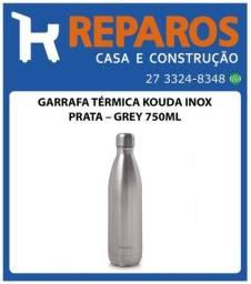Garrafa Térmica Kouda Inox Prata - 750ml