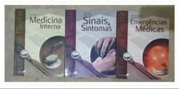 3 livros de medicina