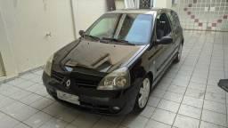 Clio 1.0 8V 2006 Preto
