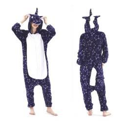 Pijama de Unicórnio Adulto Importado Alta Qualidade Pronta Entrega Envio Rápido