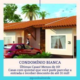 [67] Últimas Casas no Condomínio BIANCA//