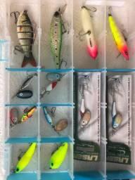Kit completo pescaria