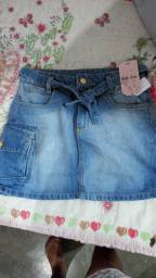 Saia jeans