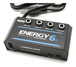 Fonte Landscape Energy E6S - 1500mA - 10 pedais - Patchbay