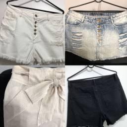Saia e Shorts/Bermudas preços diferentes