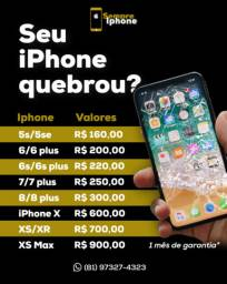 Display e bateria para iPhones