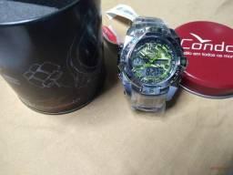 Relógio Condor analógico e digital