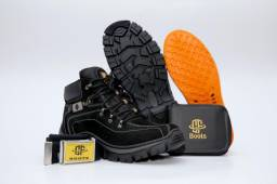 Bota Adventure Boots - Couro Sintético KIT