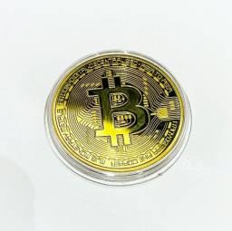Título do anúncio: Moeda colecionáveis bitcoin