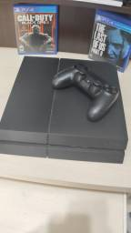 Console PS4 + Jogos