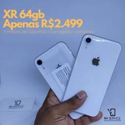 iPhone XR 64gb Vitrine - 3 meses de Garantia