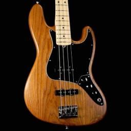 Título do anúncio: Baixo Fender USA - Jazz Bass Pro edição limitada - Cor madeira