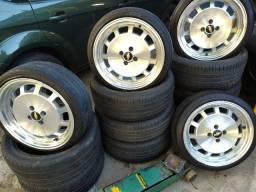 Jogo Rodas Aro 17 com pneus perfil baixo