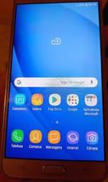 Título do anúncio: Samsung J7 metal - Dourado