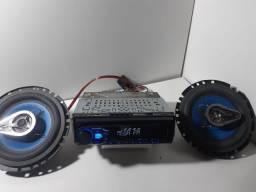 Rádio Pioneer Mixtrax USB/AUX