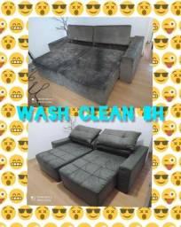 Limpeza & higienização de sofá e estofados