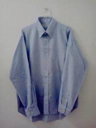 Título do anúncio: Camisa Masculina - Marca: Lancetti, Made In Italy, Original - Tamanho: 42 (Usada).