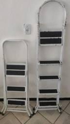 Escadas de 5 e 3 metros