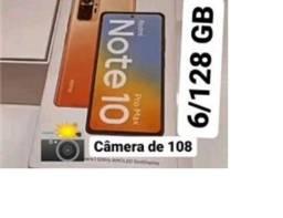 Título do anúncio: Note 10 Pro Max Azul/Preto 6+128Gb 108MP Câmera