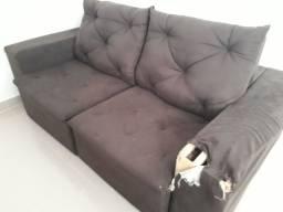 Título do anúncio: Vendo sofá retrátil e reclinável usado para quem tem interesse em reformar.