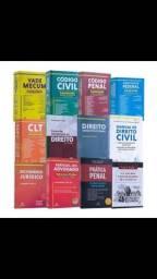 Livros para curso de Direito