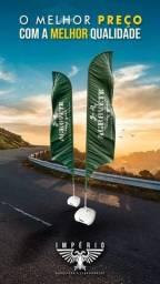 Título do anúncio: wind banner bandeira promocional