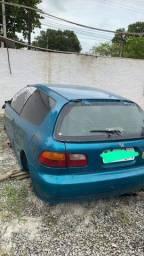 Título do anúncio: Peças Honda Civic hatch 1995 vti