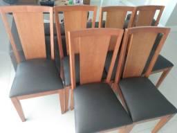 Conjunto de 6 Cadeiras Usadas- Sala de Jantar