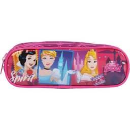 Estojo Soft 2 Divisorias Princesa Disney Dermiwil
