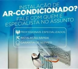 Instalação e manutenção de ar condicionado comercial e residencial