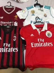 Título do anúncio: 8 Camisas liga dos campeões