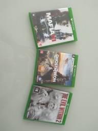 Vendo ou troco jogos Xbox One