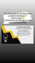 Título do anúncio: Eletricista Residencial/Predial