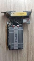 Título do anúncio: Placa de vídeo GT 210, geforce, usada