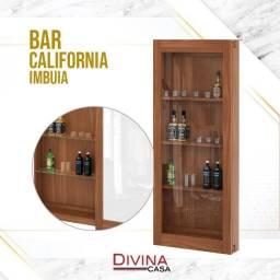 Bar Califórnia com porta de vidro de correr preço pelo whatsapp