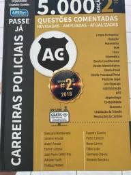 Título do anúncio: Livro 5mil questões comentadas ALFACON