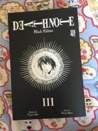 Título do anúncio: Mangá Death Note Black Edition Vol 3
