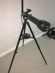 Telescópio Vivitar Refrator profissional TEL-60700 60mm f / 11.7 perfeito