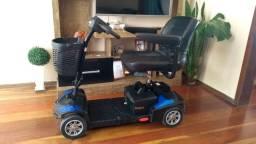 Cadeira de rodas scooter motorizada