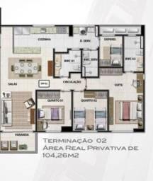 Título do anúncio: Apartamento para Venda em Natal, Petrópolis, 3 dormitórios, 1 suíte, 2 banheiros, 2 vagas